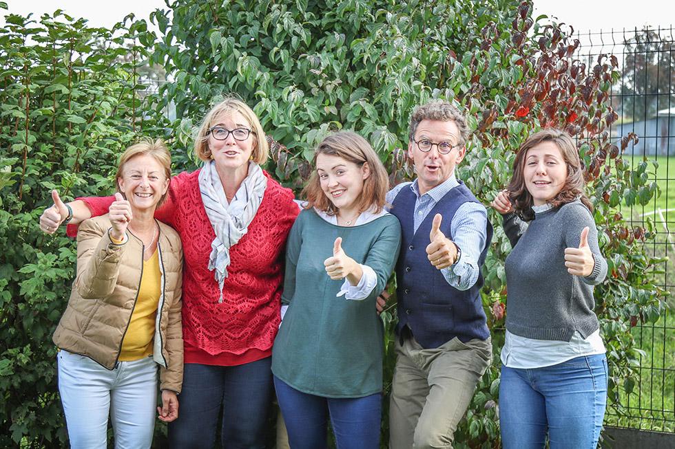 La joyeuse équipe du fonds de dotation Push !