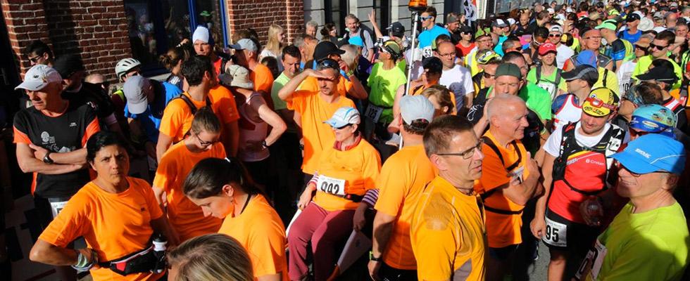 La course de Steenwerck en Joëlette pour les personnes à mobilité réduite
