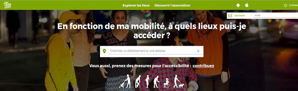 Plateforme collaborative JACCEDE pour faciliter la mobilité des personnes en situation de handicap