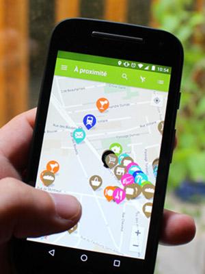 Application mobile JACCEDE pour faciliter la mobilité des personnes en situation de handicap