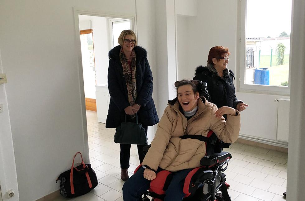 Un nouveau logement vraiment accessible pour Ginette et Sophie