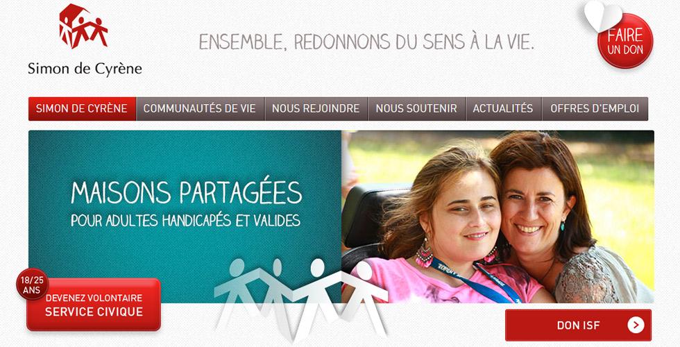Des maisons partagées entre adultes valides et en situation de handicap : les maisons Simon de Cyrène