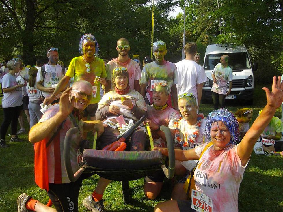 Les Dunes d'Espoir, une association qui souhaite faire partager la course à pieds avec des jeunes en situation de handicap !