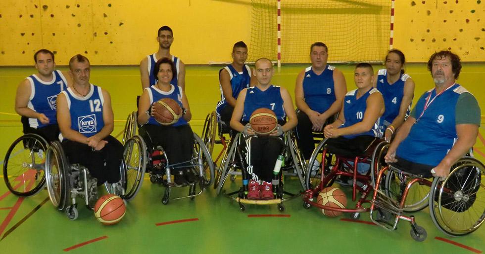 Handibasket Montpellier, un moyen deréinsertion par le basket
