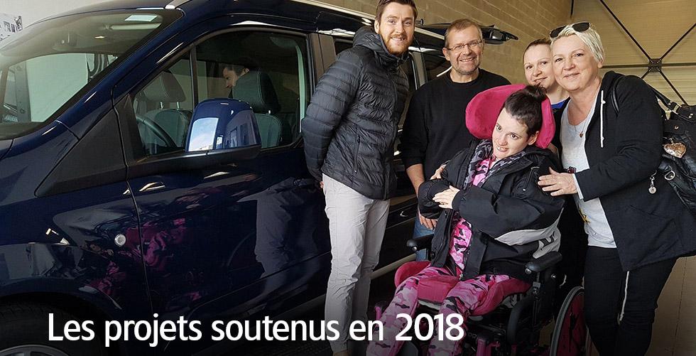 Les projets soutenus en 2018