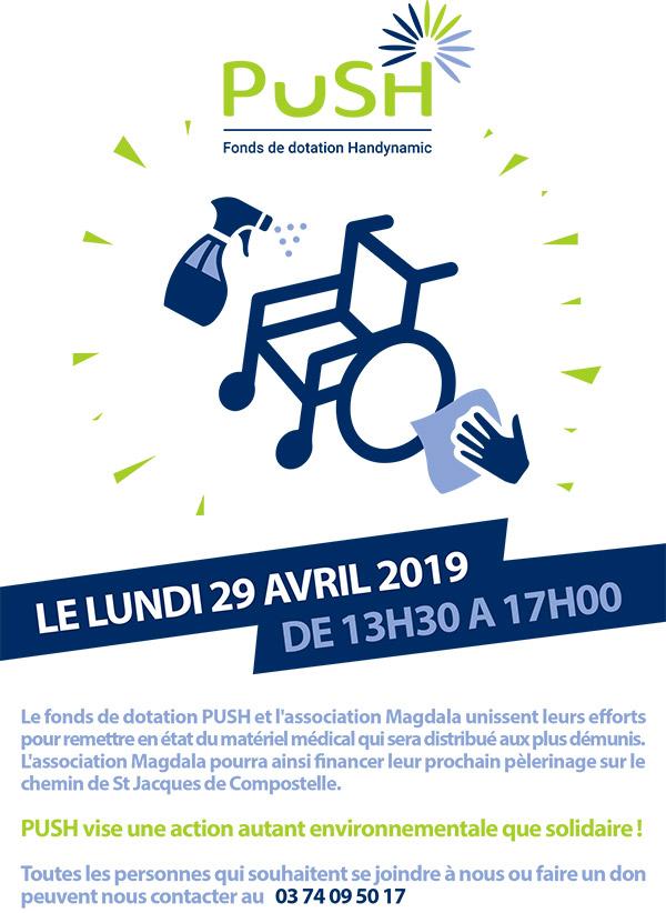 Participez à l'évènemen organisé par Push et l'association Magdala à Seclin le 29 avril 2019
